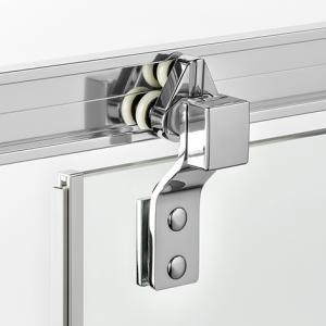 Душевая дверь PORTA - тройные ролики