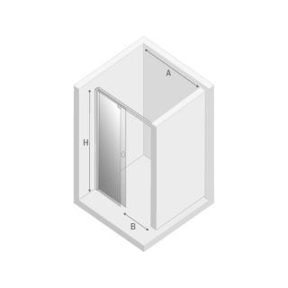Душевая дверь PORTA - Схема
