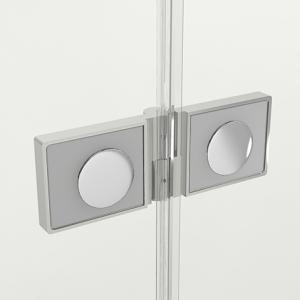 Дверь в нишу NEW SOLEO PLUS с двумя полустенками