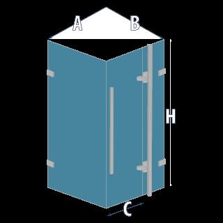 Душевая кабина GALAXY - схема