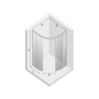 Душевая кабина PORTA - Схема